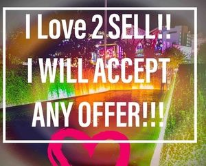 I just love to sell.